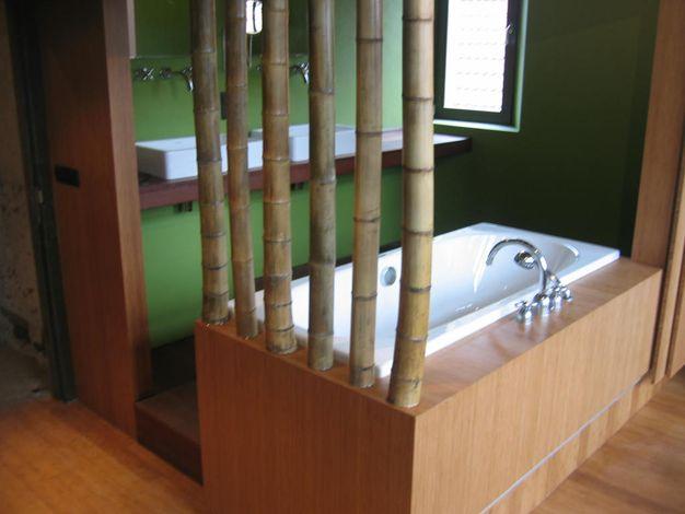 Bamboe badkamer // PAD Meubelatelier, keukens, badkamer ...